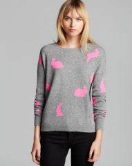 Quotation Sweater - Cropped Bunny Cashmere at Bloomingdales