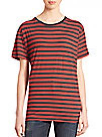 R13 - Boy Striped Cotton Tee at Saks Fifth Avenue