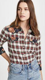 R13 Exaggerated Collar Cowboy Shirt at Shopbop