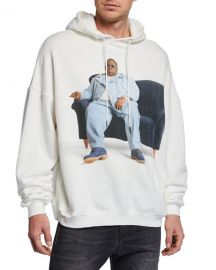 R13 Men  x27 s Notorious B I G  Graphic Hoodie at Neiman Marcus