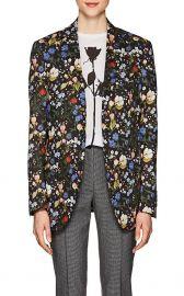 R13 Summer Floral Cotton Blazer at Barneys