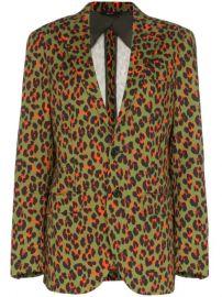 R13 x Alison Mosshart Cheetah Print Blazer - Farfetch at Farfetch