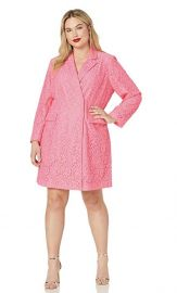 RACHEL Rachel Roy  Plus Size Darla Lace Blazer Dress at Amazon