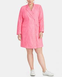 RACHEL Rachel Roy Darla Plus Size Lace Blazer Dress   Reviews - Jackets   Blazers - Women - Macy s at Macys