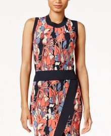 RACHEL Rachel Roy Printed Crop Top  Only at Macy s at Macys