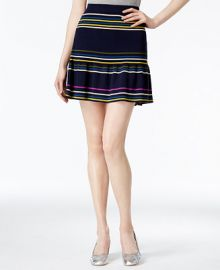 RACHEL Rachel Roy Striped Flared Skirt  Only at Macy s at Macys