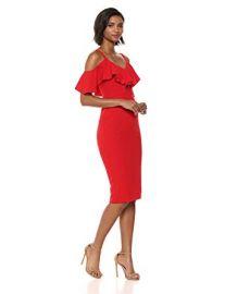 RACHEL Rachel Roy Womens Marcella Midi Dress at Amazon