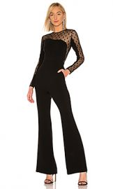 RACHEL ZOE Amber Jumpsuit in Black from Revolve com at Revolve