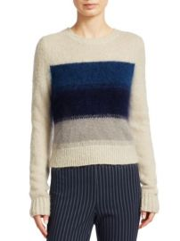 RAG BONE - HOLLAND OMBRE STRIPE CROP SWEATER at Saks Fifth Avenue