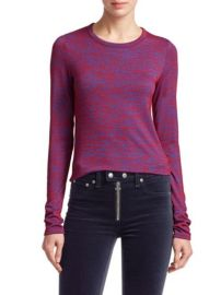 RAG and BONE - MARLED JERSEY LONG-SLEEVE TEE at Saks Fifth Avenue