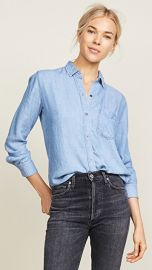 RAILS Ingrid Raw Button Down Shirt at Shopbop