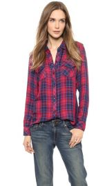 RAILS Kendra Long Sleeve Button Down at Shopbop