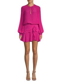 RAMY BROOK - BECCA RUCHED MINI DRESS at Saks Fifth Avenue