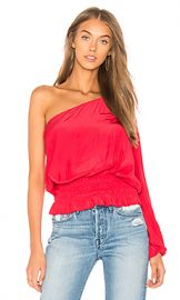 RAMY BROOK Janey Top in Bright Red from Revolve com at Revolve