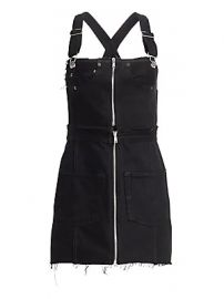 RE DONE - Denim Overall Dress at Saks Fifth Avenue