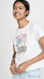 RE DONE Aloha Classic Tee at Shopbop