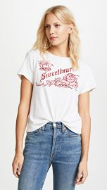 RE DONE Classic Sweetheart Tee at Shopbop