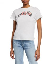 RE DONE Easy Rider Short-Sleeve Graphic T-Shirt at Neiman Marcus
