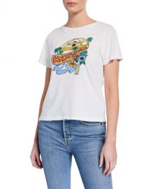 RE DONE LAX Classic Graphic Tee at Neiman Marcus