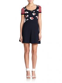 RED Valentino - Summer Leo Knit Dress at Saks Fifth Avenue