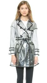 RED Valentino Clear Trench Coat at Shopbop
