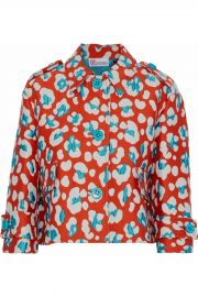 RED Valentino Cotton-blend jacquard jacket at The Outnet