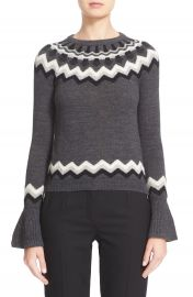 RED Valentino Fair Isle Sweater at Nordstrom