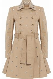 RED Valentino Grommet Trench at The Outnet