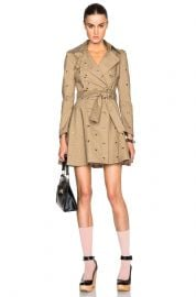 RED Valentino Mackintosh Trench at Forward by Elyse Walker