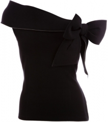 RED Valentino bow detail top at Selfridges