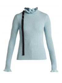 RED Valentino tie neck sweater at Matches