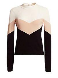 REDValentino - Chevron Stripe Sweater at Saks Fifth Avenue