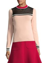 REDValentino - Colorblock Top at Saks Fifth Avenue