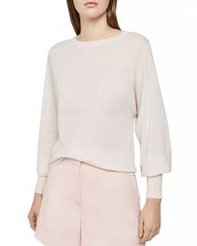 REISS Abella Balloon-Sleeve Sweater Women - Bloomingdale s at Bloomingdales