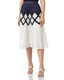 REISS Elsa Pleated Midi Skirt   Bloomingdale  39 s at Bloomingdales
