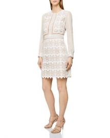 REISS Aria Lace Dress Women - Bloomingdale s at Bloomingdales