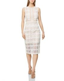 REISS Coral Lace Dress Women - Bloomingdale s at Bloomingdales
