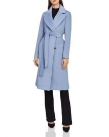 REISS Faris Belted Wool Coat Women - Bloomingdale s at Bloomingdales
