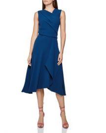 REISS Marling Sleeveless Draped Dress Women - Bloomingdale s at Bloomingdales