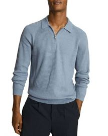 REISS Quarter Zip Sweater Men - Bloomingdale s at Bloomingdales