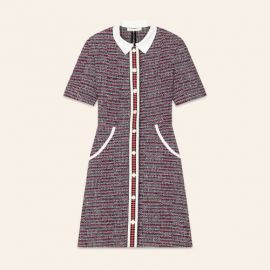 RENATELLE Tweed dress at Maje