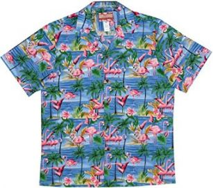 RJC Menand39s Menand39s Flamingo Orchid Shirt at Amazon