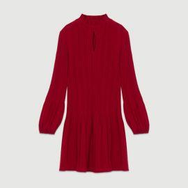 ROCKALLY Short pleated dress at Maje