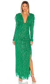 ROCOCO SAND Elna Dress in Green from Revolve com at Revolve
