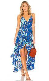 ROCOCO SAND Folium Maxi Dress in Blue from Revolve com at Revolve