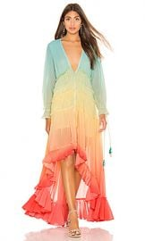 ROCOCO SAND High Low Dress in Rainbow from Revolve com at Revolve