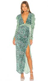 ROCOCO SAND Irene Gown in Green from Revolve com at Revolve