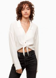 RODGERS BLOUSE at Aritzia