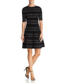 RONNY KOBO JILLIAN GROMMET-DETAIL DRESS at Bloomingdales