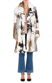 Rabbit Fur Coat by Co at Barneys